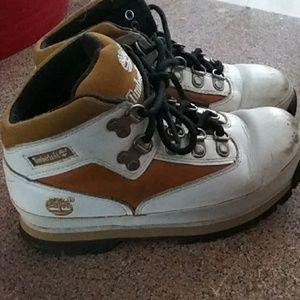Boys timberland boots size 13.5